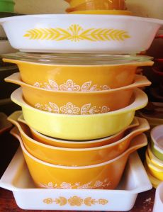 Pyrex, Bohemian collection, Classic collection, Betty Draper collection