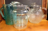 Glassware, pitchers