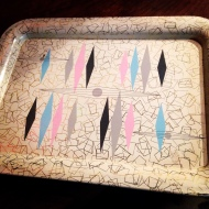 Trays, accessories, Betty Draper collection