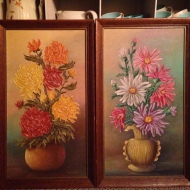 Floral art, accesories/props
